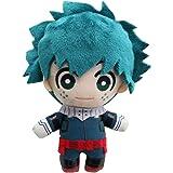 My Hero Academia Midoriya Lzuku 15cm Plush Doll Deku Plushie Todoroki Bakugou Plushies Green