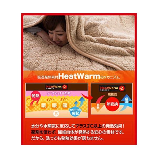 Heat Warm (ヒートウォーム) 毛布 ...の紹介画像3