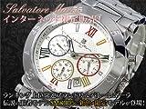 サルバトーレ マーラ SALVATORE MARRA クロノグラフ 腕時計 SM8005-WHCL