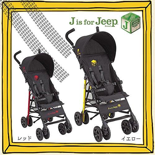 J is for Jeep スポーツ スタンダード B型ベビーカー レッド・10055280 【人気 おすすめ 】