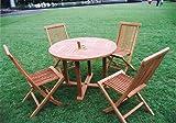 ジャービス商事 天然木無垢材 ガーデンテーブル 丸テーブル1010 20707 テーブルのみ