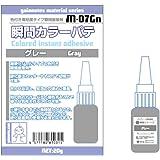 ガイアノーツ マテリアルシリーズ M-07Gn 瞬間カラーパテ グレー 20g ホビー用塗装ツール 81031