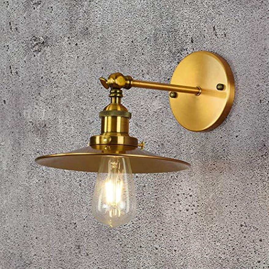 ピストル約設定トーンLEDモダン壁面ライト寝室のベッドサイドナイトライトミニマリストブロンズ装飾壁面ライトリビングルーム研究バルコニー壁ランプ、2パック、E27