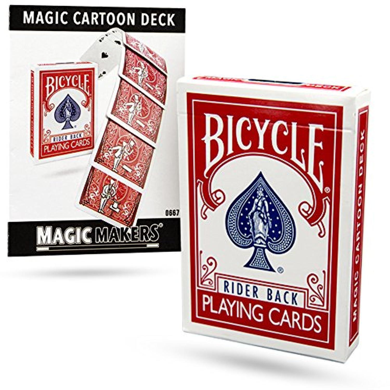 マジックメーカーから魔法の漫画デッキトリック - アメージングカードマジックは誰でもできる! Magic Cartoon Deck Trick From Magic Makers - Amazing Card Magic Anyone Can Do!