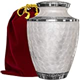 (Adult Urn) - Everlasting Love Cremation Urn For Human Ashes - Beautiful, Timeless and Elegant Brass Urn To Honour The One Yo