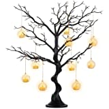 Sziqiqi Black Artificial Tree for Tree Centerpiecefor Weddings Christmas Birthday Party Home Indoor Outdoor Decoration 30 inc