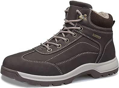 [ZanYeing] メンズ スノーブーツ 綿靴 大きいサイズ(24.5cm-28cm) 防水 防滑 トレッキングシューズ 裏ボア 滑り止め 登山靴 耐摩耗 裏起毛 ウィンターブーツ 超防寒 ハイキングシューズ 厚底 ムートンブーツ