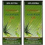 2 x Patanjali Kesh Kanti Hair Oil 100ml (Pack of 2) [並行輸入品]