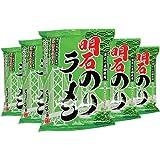 西海醤油 明石のりラーメン(醤油味) 117g×5個