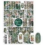写ネイル ネイルシール Sha-NailPro Lovers Green LG-001