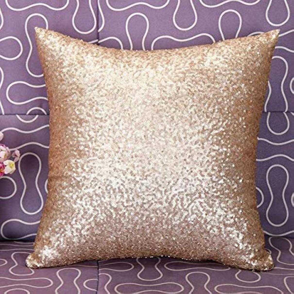 うっかり一握り鳴らすLIFE 枕カバー無地グリッターシルバースパンコールブリンブリンスローカフェ家の装飾クッション装飾 D1 クッション 椅子