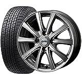 (限定)国産スタッドレスタイヤ(155/65R14)+ホイール(14インチ) 4本SET(1台分)■Aセット:DOS SE-10R[メタリックグレー]