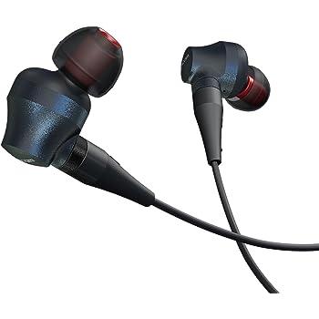 エレコム カナル型イヤホン ハイレゾ対応/高音質/ステレオ/ネオジムマグネット・MMCX端子採用 ブラック AMA25813