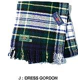 イギリス製 【Tweedmill Textiles】ツイードミル テキスタイル WOOL BLANKET(ウール ブランケット) (J:DRESS GORDON)