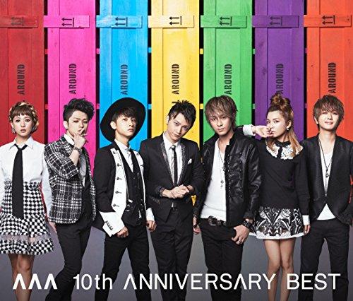 AAA 10th ANNIVERSARY BEST(ALBUM3枚組+DVD)