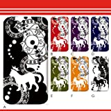 〔選べるデザイン〕特殊印刷 デザインケース アイフォン5S iPhone5S 猫の王様 sc252 iphone5s ハード ケース 〔ベース色:ブラック...