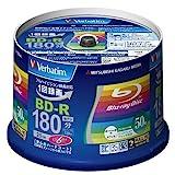 三菱ケミカルメディア Verbatim 1回録画用 BD-R VBR130RP50V4 (片面1層/1-6倍速/50枚)