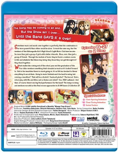 K-On!: Season 2 Collection 2 [Blu-ray] [Import]