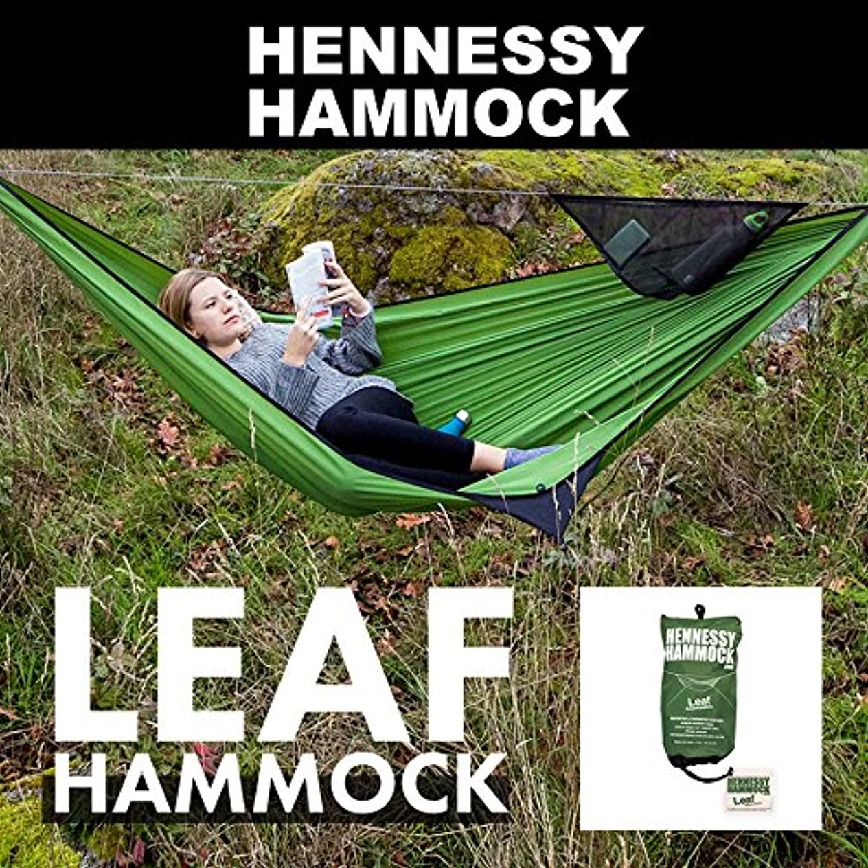 送る集める不十分な(ヘネシーハンモック) Hennessy Hammock リーフハンモック 12880020018000