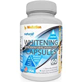 Whitening Pills for Skin - 60 caps - Herbal Supplement -3 Times Better Than glutathione - Focus on Clear Glossy Brightening a