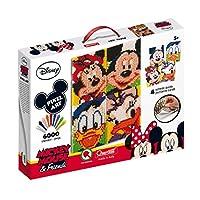 Quercetti 0807 WD Pixel Art Mickey 6 Friends
