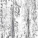 シール式 はがせる壁紙 RILM(リルム) 腰壁 木目柄シャビーホワイト 391 B5サイズ柄見本壁紙サンプル 15cm角の実物シールサンプル付 日本製 DIY 賃貸