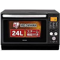 アイリスオーヤマ 過熱水蒸気 スチームオーブンレンジ 24L ブラック MO-FS2403