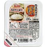 アイリスオーヤマ 低温製法米のおいしいごはん あきたこまち 180g 角型×24個