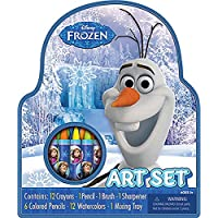 (Art Supplies with Case) - Frozen Disney Small Character Art Case