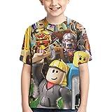 VIMMUCIR Kids T Shirts Youth Short Sleeve Tops Tee for Ten Boys Girls