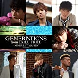 NEVER LET YOU GO♪GENERATIONS from EXILE TRIBEのCDジャケット