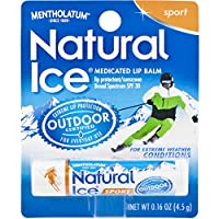 Natural Ice Lip Protectant/sunscreen sport SPF 30, 0.16-Ounce Tubes (Pack of 12) by Natural Ice