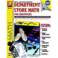 Remedia Publications REM161D Department Store Math for Beginners Book 0.2 Height 8.2 Wide 11 Length [並行輸入品]