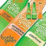 ボトルグリーン スパークリング 発泡炭酸水 グラス(ビン) アソートセット 3種各4本入 1ケース(275ml×12本)