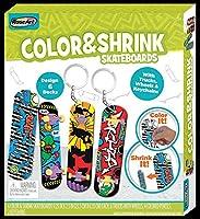 RoseArt Color N Shrink Skateboards Arts & Crafts [並行輸入品]