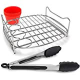 Philips Airfryer Breakfast Master Accessory Kit - For Philips Airfryer XXL (1.4kg) - Includes 1x Breakfast Tray, 4x Egg Muffi