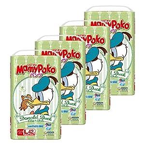 【Amazon.co.jp限定】マミーポコパンツ Lサイズ(9~14kg) 168枚(42枚×4)[ケース品](ディズニー限定デザイン)