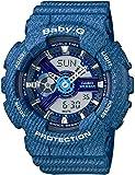 [カシオ] 腕時計 ベビージー DENIM'D COLOR BA-110DC-2A2JF ブルー