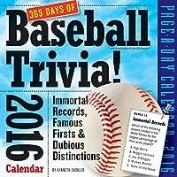 365 Days of Baseball Trivia! 2016 Calendar
