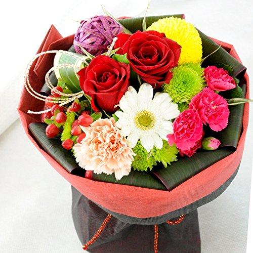 花由 そのままブーケ(花束) 和風Ver 日時指定便 フラワーギフト 誕生日プレゼント 女性 お祝い 結婚祝い 退職祝い