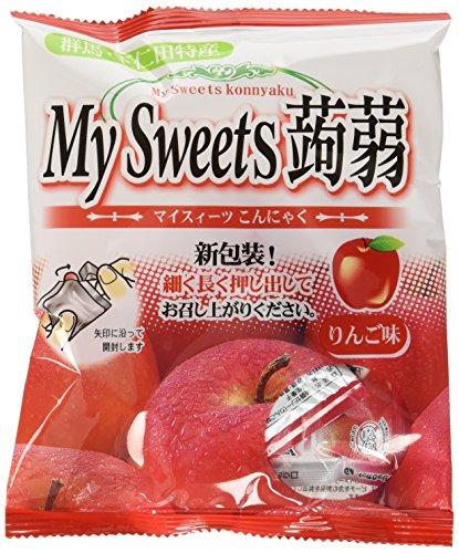 マイスィーツ蒟蒻 りんご 27g ×6個
