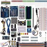 Kuman 40個 arduino キット uno r3ボード+LEDセット+ブレッドボード 電子工作 ブレッドボード arduino mega/arduino uno アルディーノ 日本語マニュアル K4
