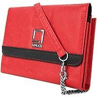 Lencca Nikina Crossbody Wallet Clutch Bag Shoulder Bag Lightweight Wallet Case for Apple Iphone 7/7 plus/6S/6S...