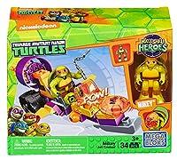 [メガブロック]Mega Bloks Teenage Mutant Ninja Turtles HalfShell Heroes Mikey's Jet Cruiser DMW42 [並行輸入品]