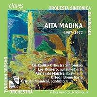 フランシスコ・ドゥ・マディナ:4つのギターとオーケストラのための協奏曲 (Aita Madina : Choral / Orchestral Works) (2CD)