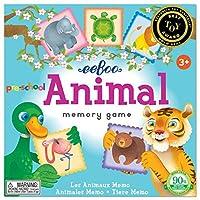 eeBoo Preschool Animal Memory Matching Game [並行輸入品]
