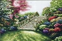 クロスステッチ刺繍キットStairs in the forest-111206