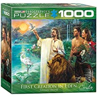 EuroGraphics First Creation Eden Puzzle (Small Box) (1000-Piece) [並行輸入品]