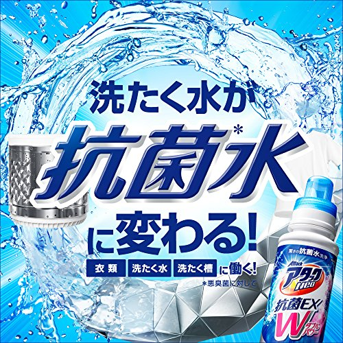 『【大容量】アタックNeo 洗濯洗剤 濃縮液体 抗菌EX Wパワー 本体 610g』の2枚目の画像