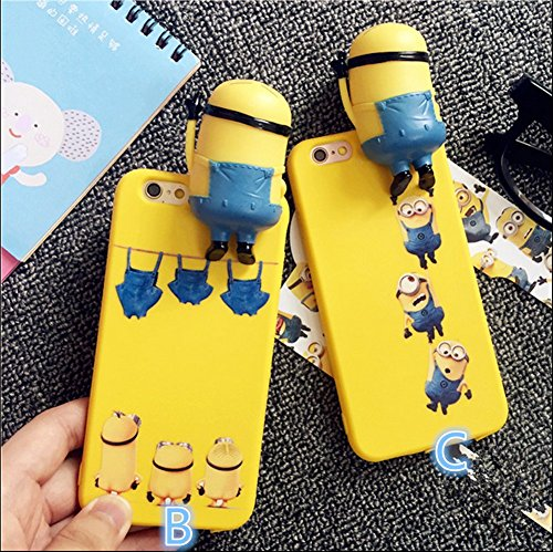 iphone6/6s 対応 携帯ケース 怪盗グルーのミニオン Minion  カバー アイフォン  携帯 スマートフォンケース iphone6plus/6s plus (iphone6/6s, B) [並行輸入品]